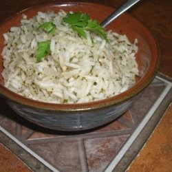 Mexican Green Rice (Vegan) recipe