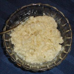 Tapioca Pudding - Easy Microwave Method recipe