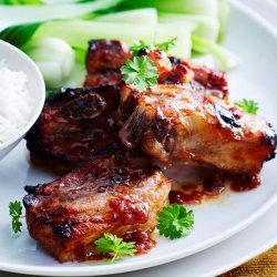 Ribs With Plum Sauce recipe