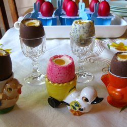Cheesecake Filled Chocolate Easter Eggs recipe