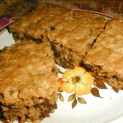 Oatmeal Raisin Chocolate Chip Bars recipe