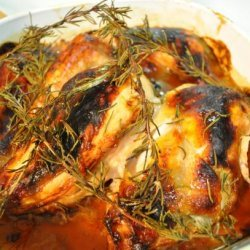 Chicken Legs With Honey and Rosemary recipe