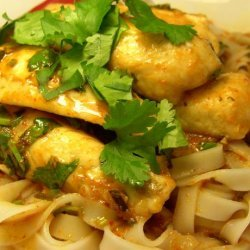 Blue-Eye Cod With Curry Sauce recipe