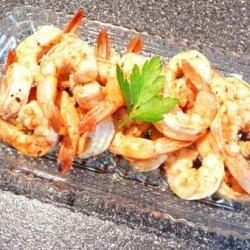 Grilled Salt & Pepper Shrimp recipe