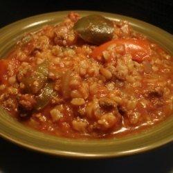 Stuffed Bell Peppers Soup recipe