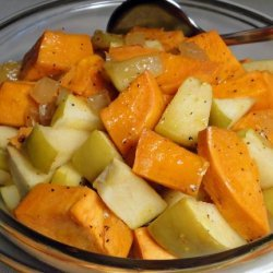 Sweet Potato and Apple Salad recipe