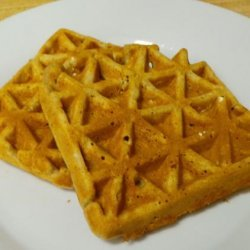 Gingery Banana Waffles recipe