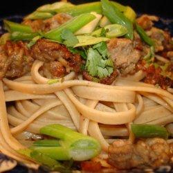 Hot and Spicy Szechuan Noodles (Dan Dan Mian) recipe