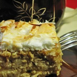 Coconut Bread Pudding recipe