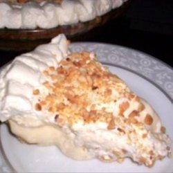 Banana Cream Pie in Almond Crust recipe