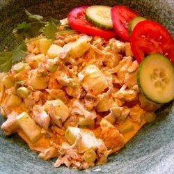 Moroccan Chicken Salad recipe