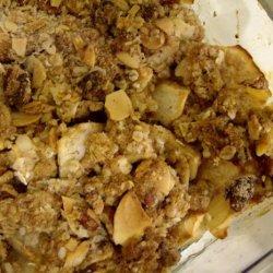 Apple Crunch Crumble recipe