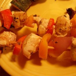 pick Me Up  Party Chicken Kabobs recipe