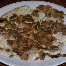 Turkey With Mushroom Sauce recipe
