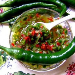 Some Like It Hot (Fresh Pepper Condiment) recipe