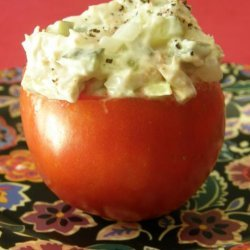 Tuna Stuffed Tomatoes recipe