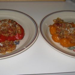 Stuffed Peppers With Orzo recipe
