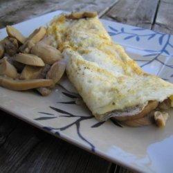Mushroom Omelette for One recipe