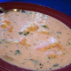 Dutch Shrimp Soup recipe