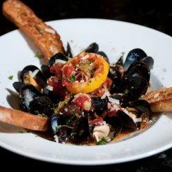 Mussels Italiano recipe