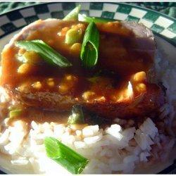Pork Loin Roast With Hoisin-Sesame Sauce recipe