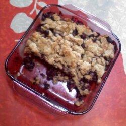 Blueberry Buckle (Vegan) recipe