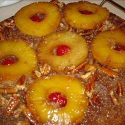 Spiced Pineapple Upside Down Cake recipe