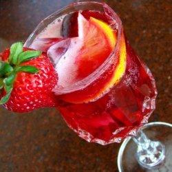 Hibiscus Sangria recipe