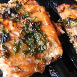 Grilled Cilantro Salmon recipe