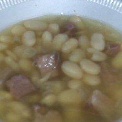 Navy Bean Soup in the Crock Pot recipe