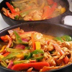 Kelly's Chicken Fajitas recipe