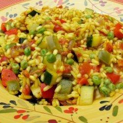 Spicy Spanish Saffron Rice recipe