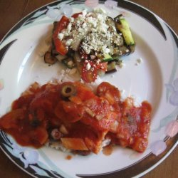 Grilled Vegetable Salad With Feta recipe