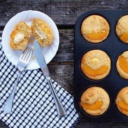 Peaches and Cream Muffins recipe