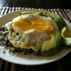 Quinoa With Edamame, Parm, and Egg recipe