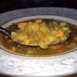 Split Pea and Sweet Potato Soup recipe