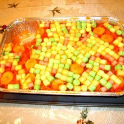 Fruity Jello Salad recipe
