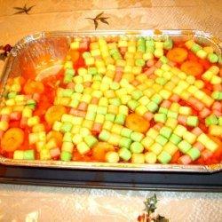 Fruity Jello Salad recipe