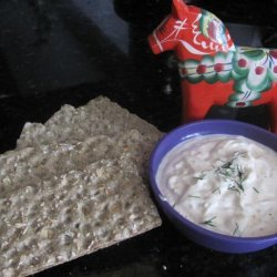 Smoked Salmon Dip With Dill and Horseradish recipe