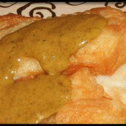 Fried Fish With Moroccan Herb Sauce recipe