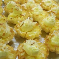 Lemon Coconut Tartlets recipe