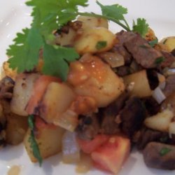 Beef Hash With a Spicy Kick recipe