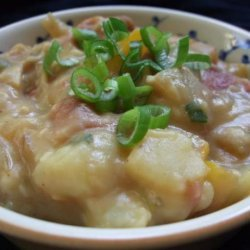 Sommer's Loaded Potato Soup (Dairy-Free) recipe