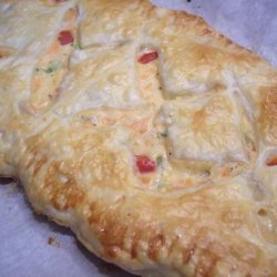 Savory Salmon Puff recipe