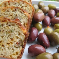 Cheese & Olive Bread for Appetizer recipe