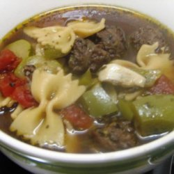 Mary's Italian Sausage Soup recipe