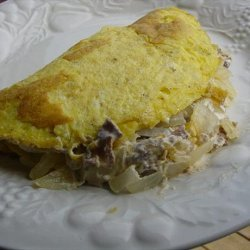 Philly Steak & Cheese Omelette recipe