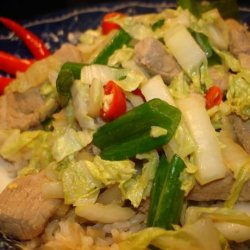 Japanese Pork and Ginger Cabbage recipe