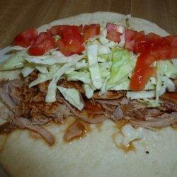 Crock Pot Pulled Pork Tacos recipe