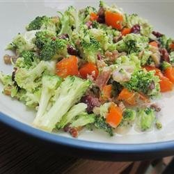 Sweet and Tangy Broccoli Salad recipe